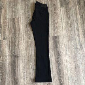 True Religion Black Boot Cut Jeans